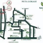 Karyawangi Asri Perumahan Syariah Cihanjuang Bandung - Peta Lokasi