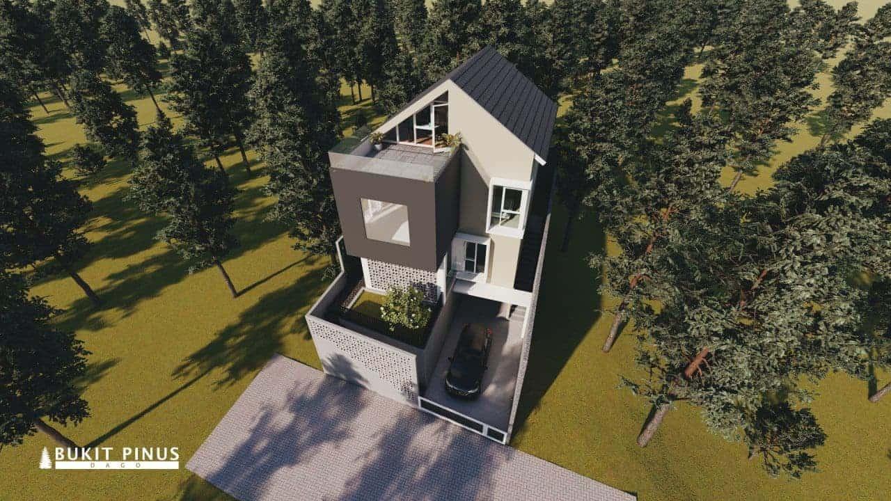 Bukit Pinus Dago - Rumah 2 Lantai Bandung - Tipe 160-152