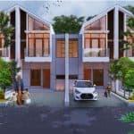 Cibiru Hills 3 - Rumah Syariah Bandung - Desain Fasad Tipe 50 2
