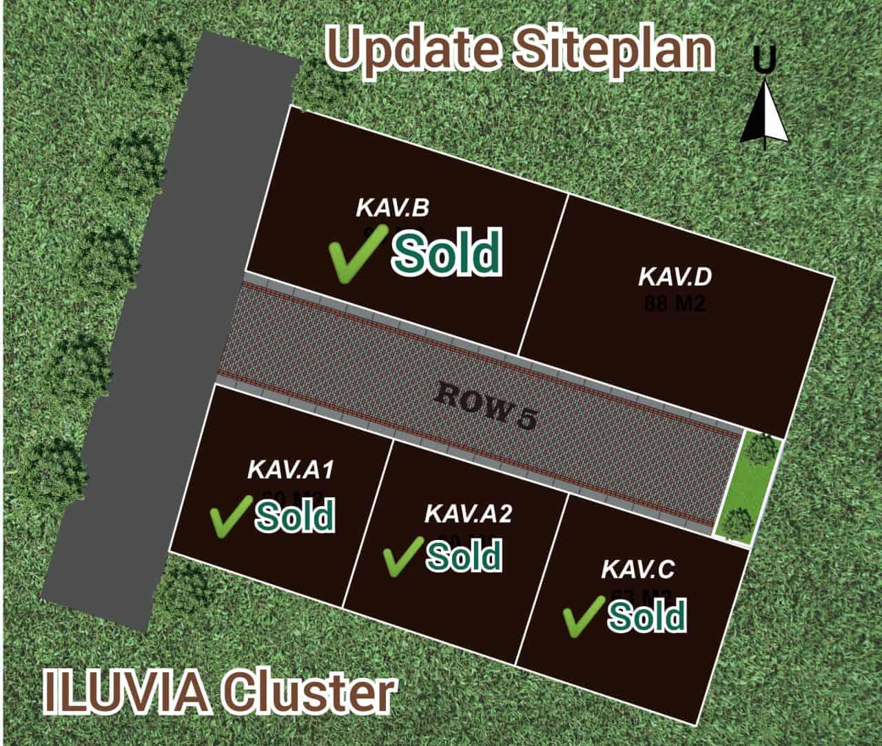 2021-03-28 Iluvia Cluster - Rumah Syariah Bandung Arcamanik - Update Siteplan